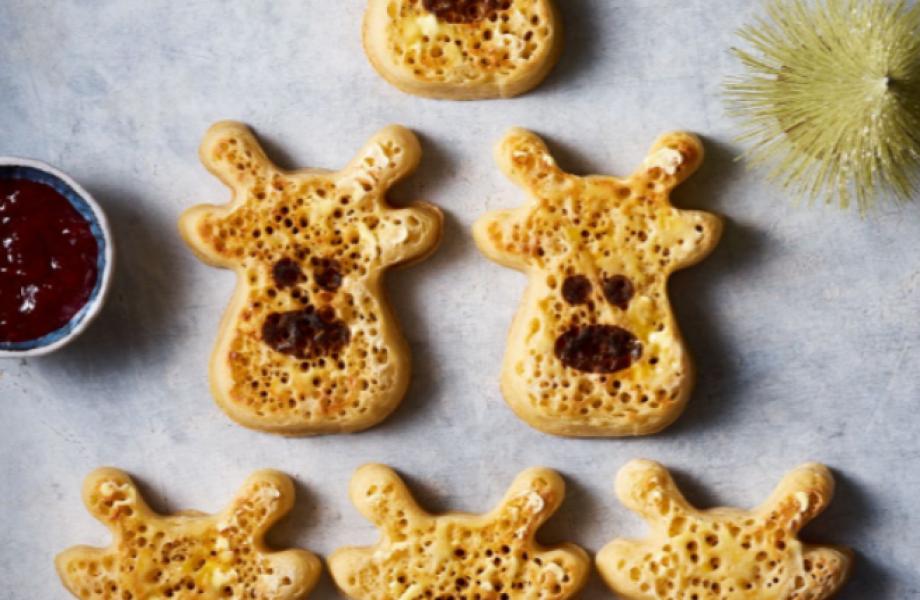 Reindeer Crumpets