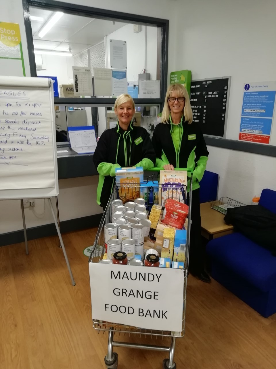 Supporting our foodbanks | Asda Accrington