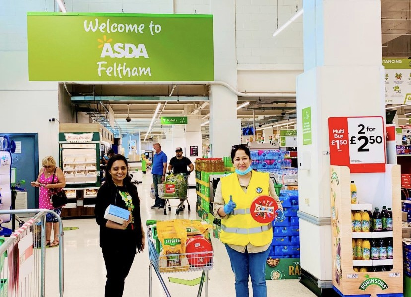 Donation to local food bank  | Asda Feltham