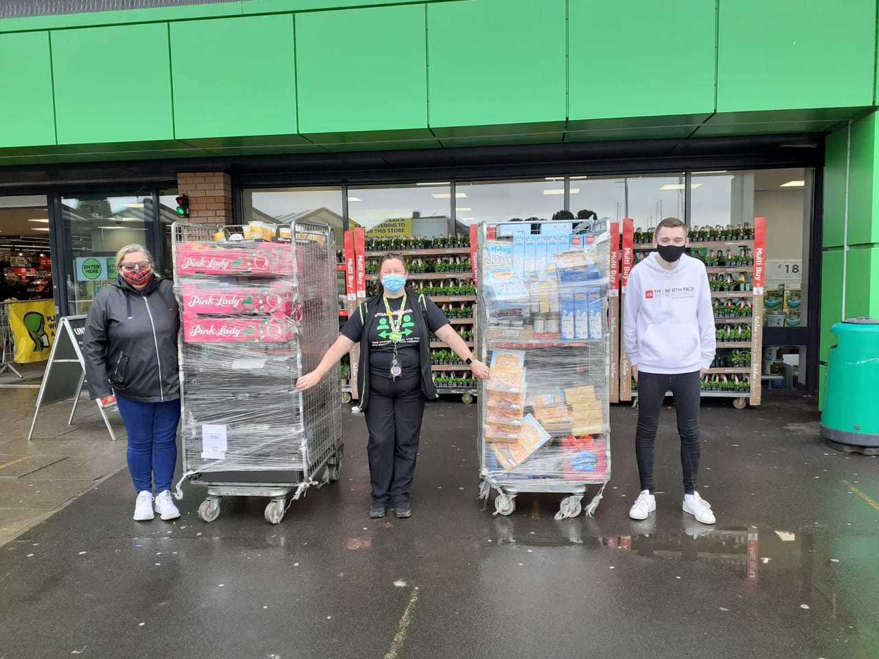 Supporting Our Community Links   Asda Blantyre