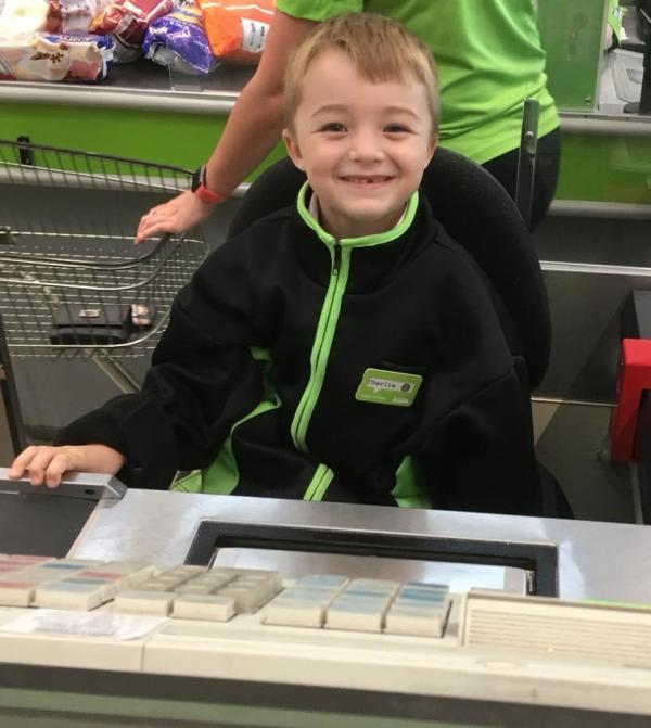 Theo at Asda St Leonards on Sea