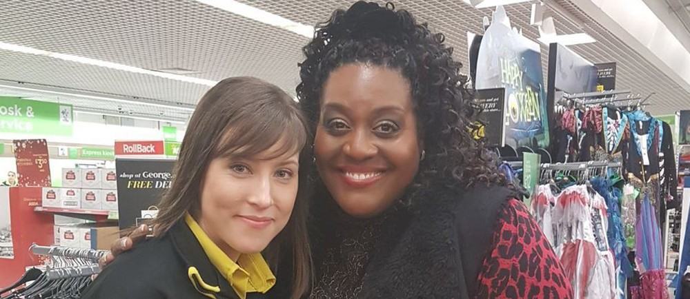 Alison Hammond surprised customers at Asda Nuneaton