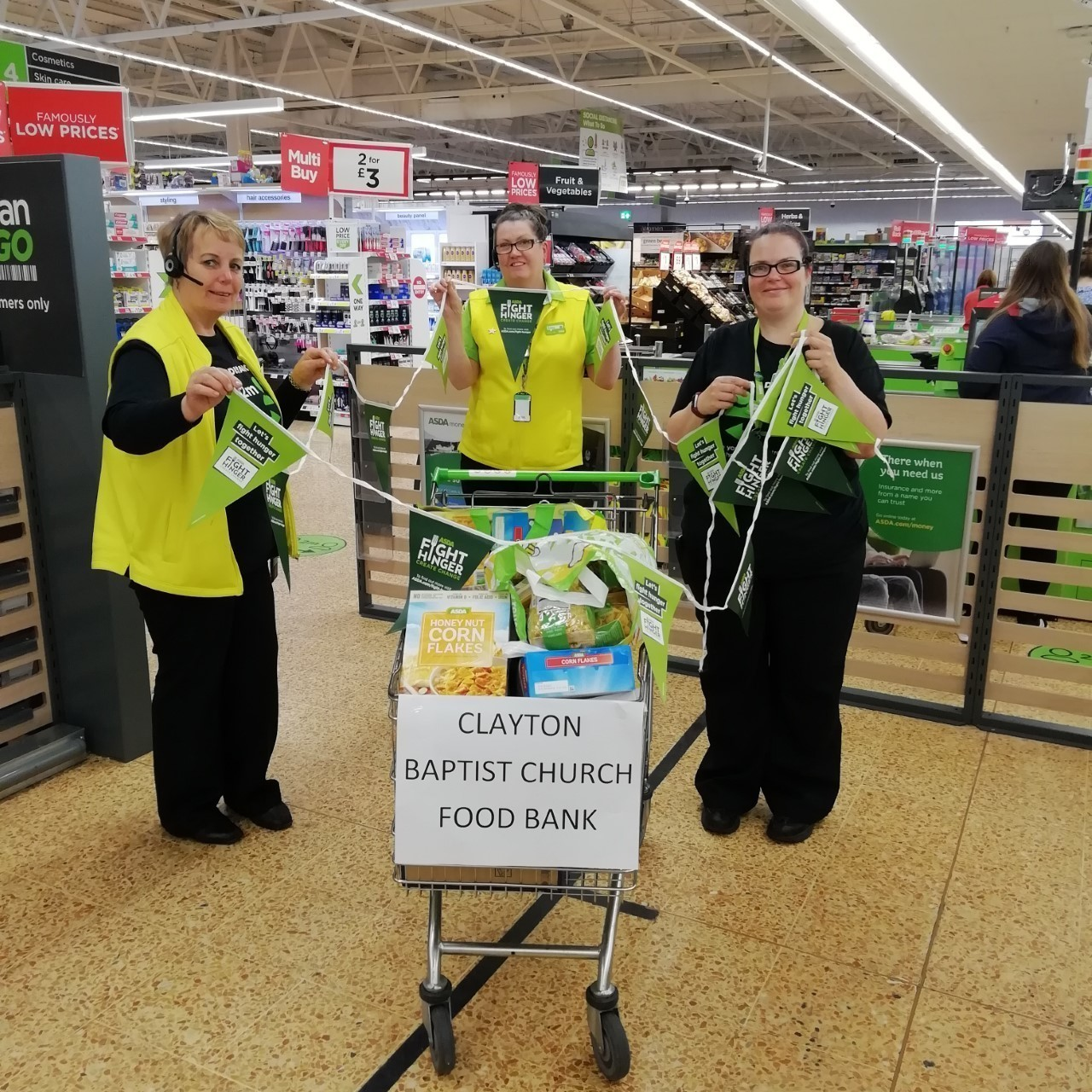 Fighting hunger  | Asda Accrington