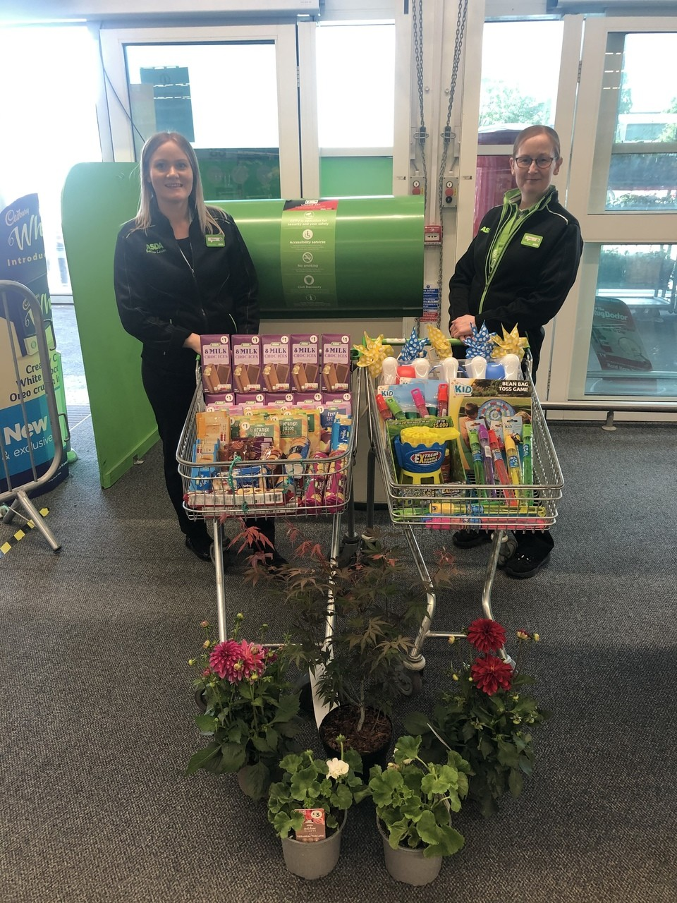 Caledonian Court donations  | Asda Stenhousemuir