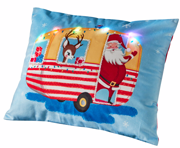 Asda light up Santa cushion