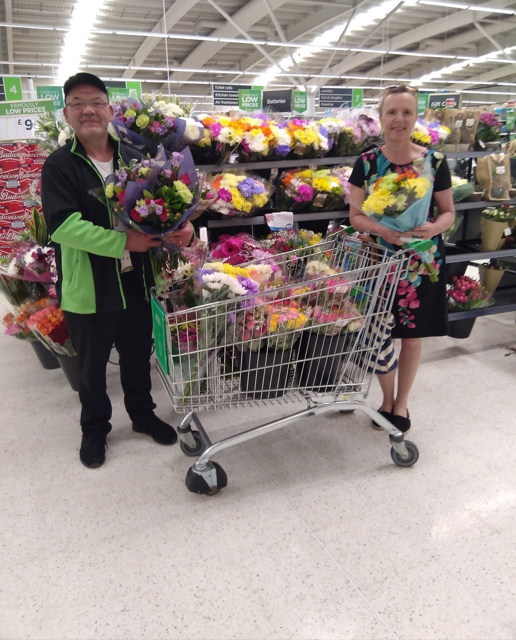 Raising a smile | Asda Stafford