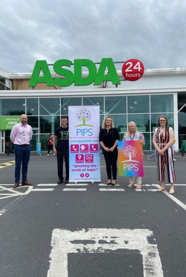 PIPS Suicide Prevention Ireland offers support at Asda Enniskillen