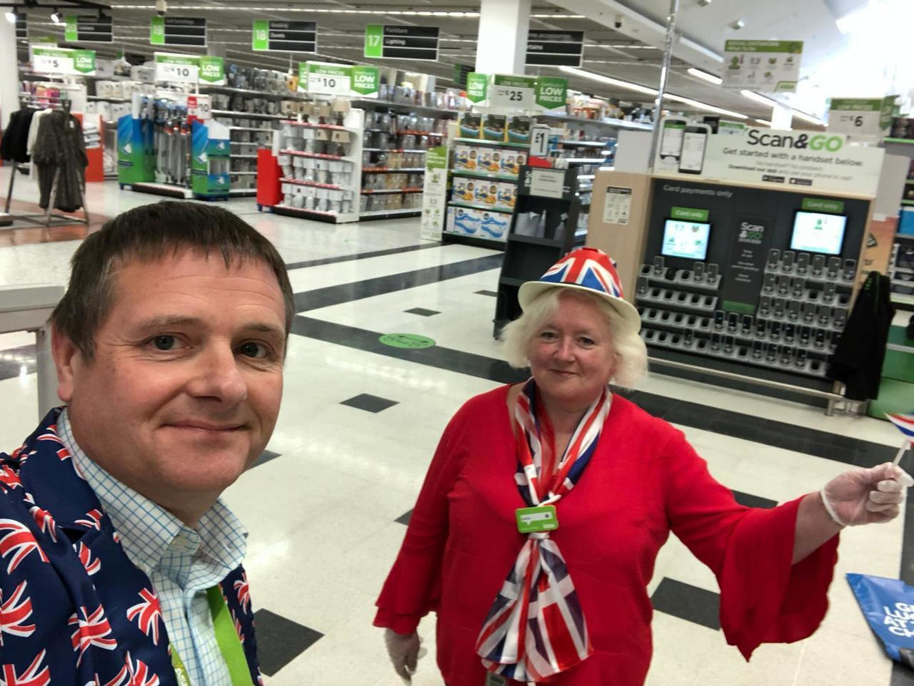 VE Day celebrations | Asda Watford