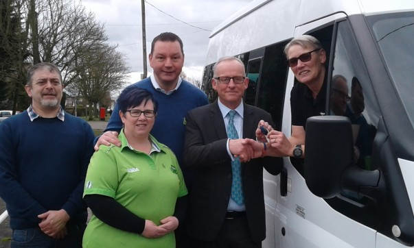 Asda Bury St Edmunds colleagues see Priors Estate Action Group receive new minibus