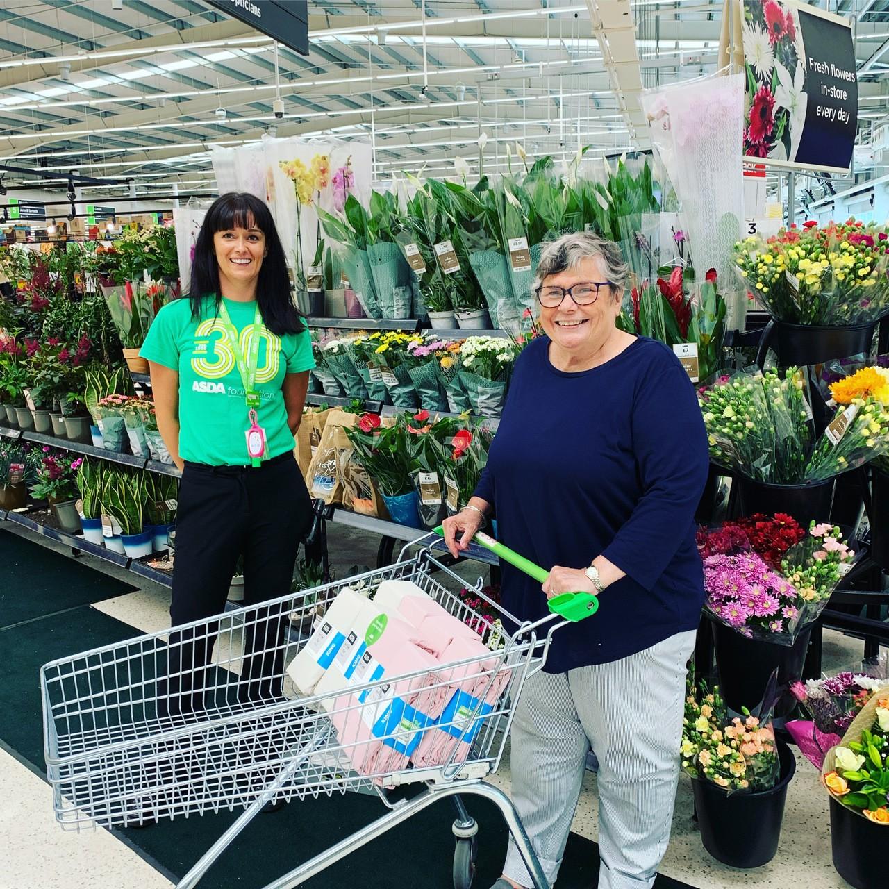 Donation to Scrubstars | Asda Havant