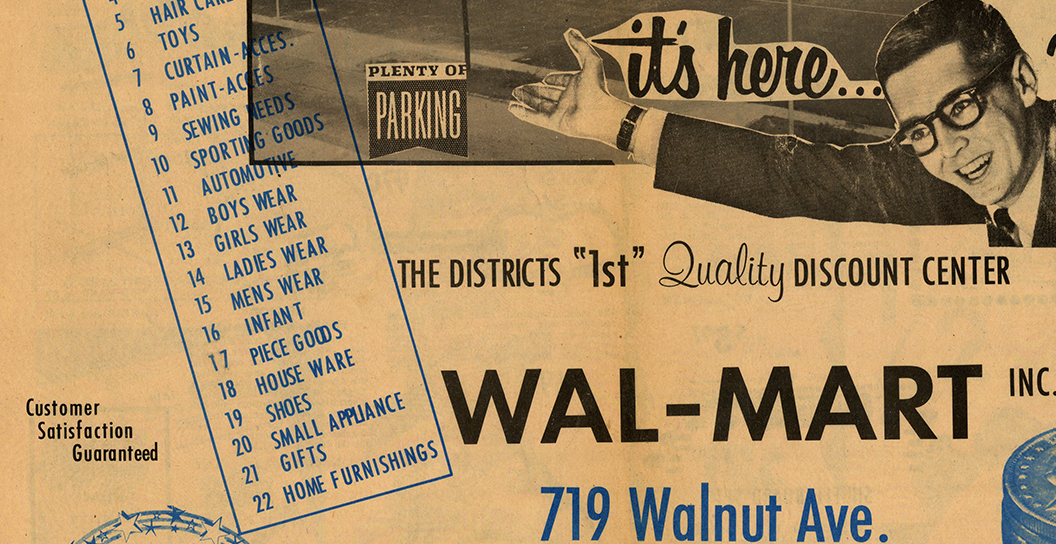 what is the history of walmart