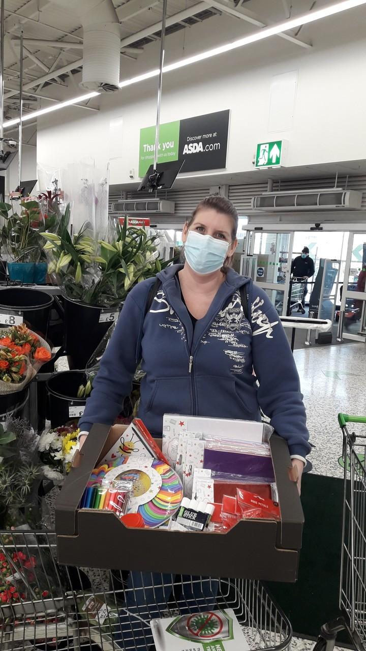 Glen Heathers Nursing Home donation   Asda Fareham