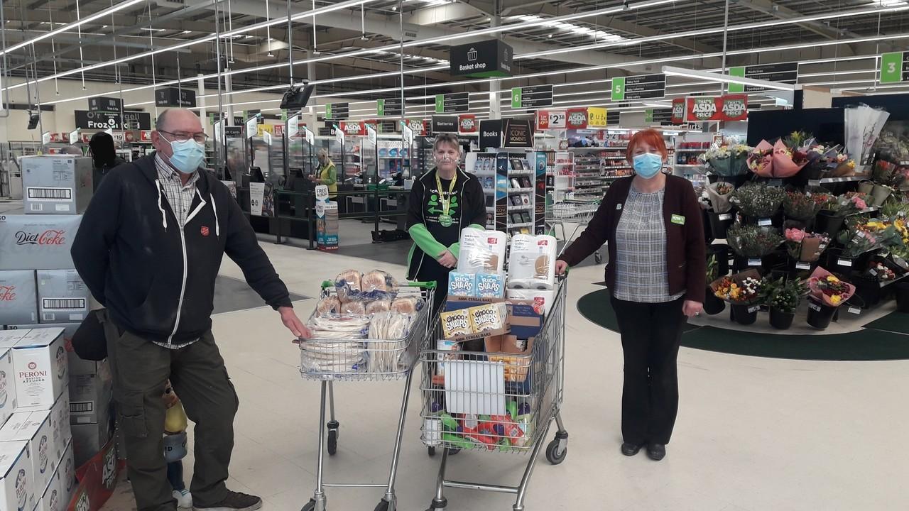 Wrexham Salvation Army donation | Asda Wrexham
