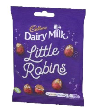 Allergen alert: Undeclared almond in Cadbury Dairy Milk Little Robins