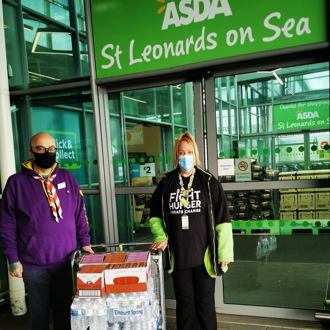 Supporting our local scout group   Asda St Leonards on Sea
