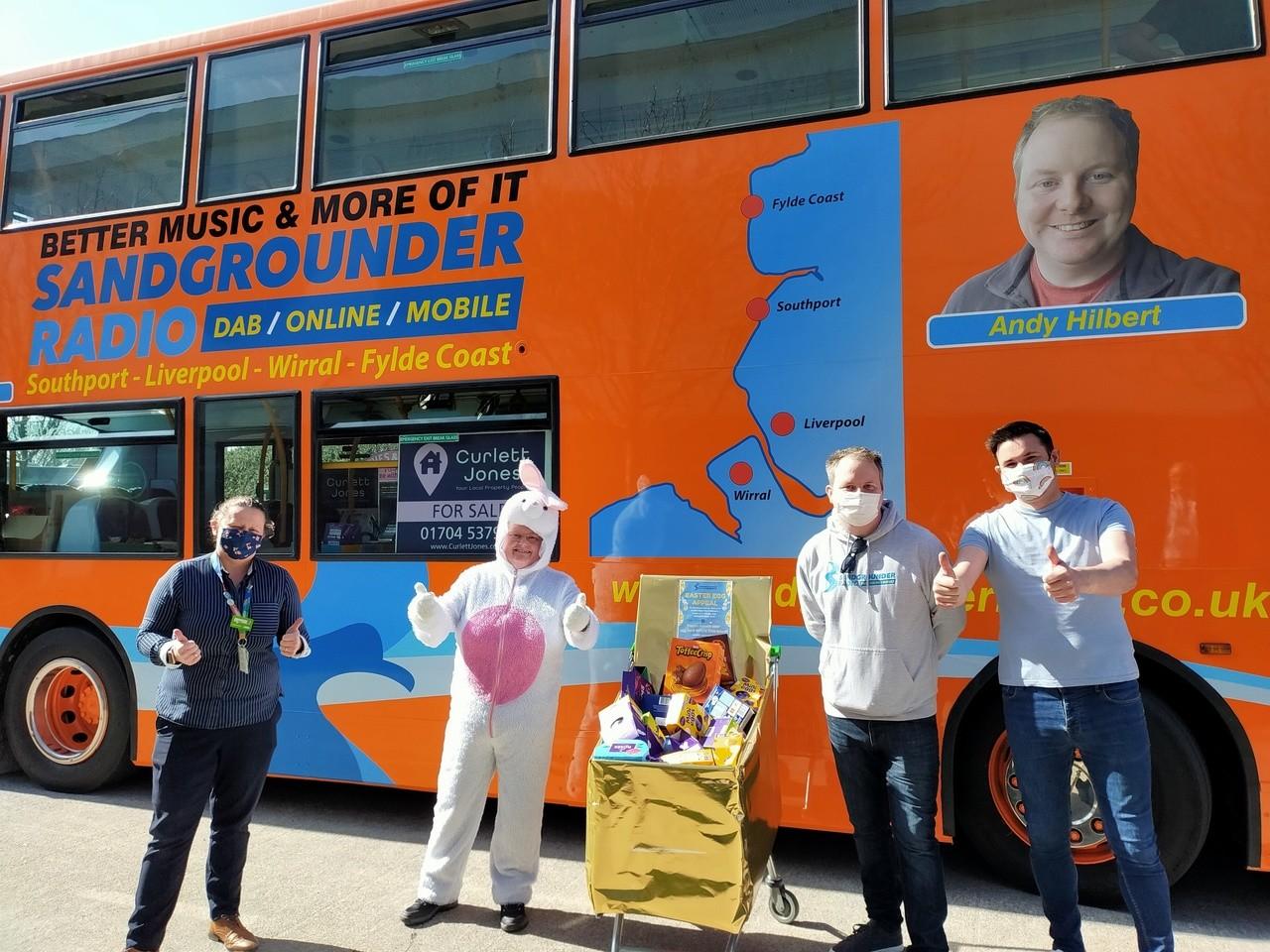 Sandgrounder Radio Easter Egg Appeal | Asda Southport