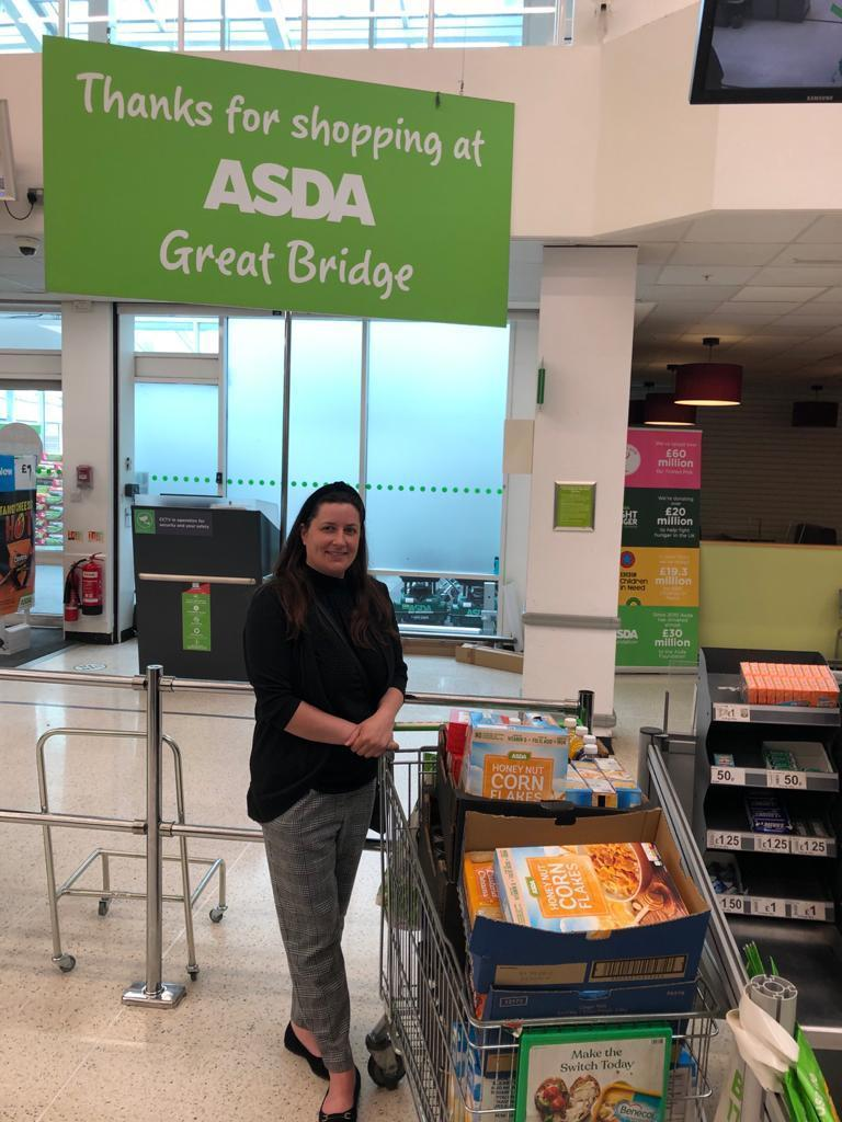 Local foodbank donations  | Asda Great Bridge