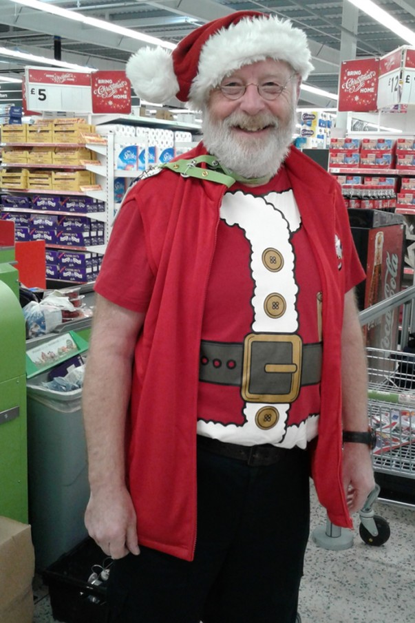 Santa at Asda Gillingham Pier