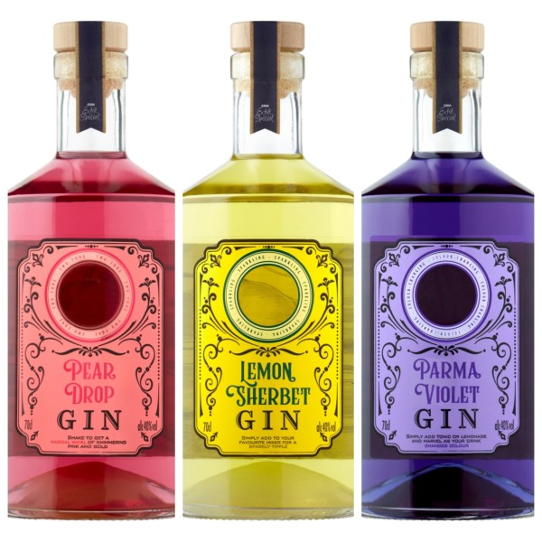 New sweet shop-inspired gins from Asda