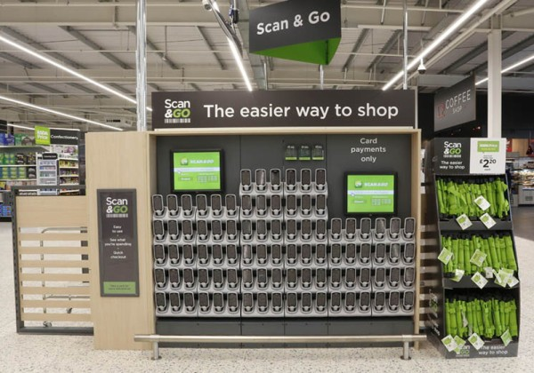 Scan & Go at Asda Newport