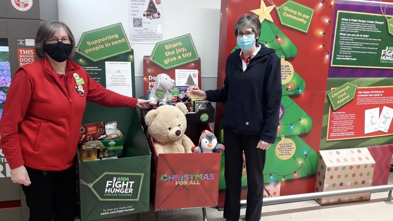 Start of our Community Christmas Activity | Asda Darlington