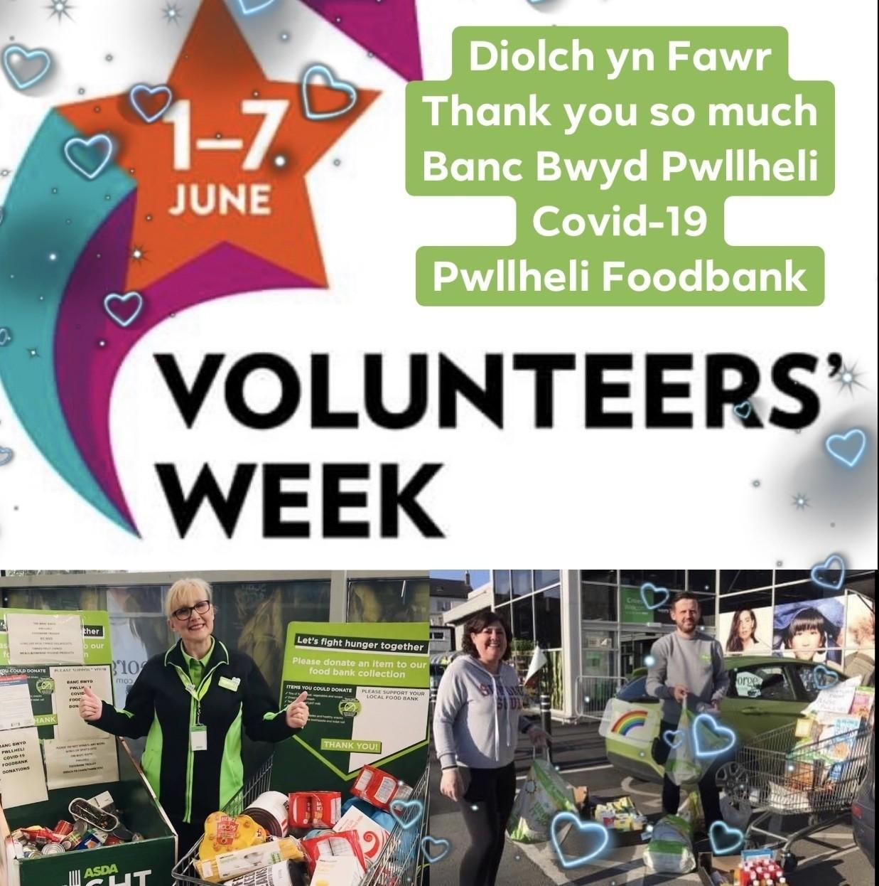 Volunteers' Week thank you | Asda Pwllheli