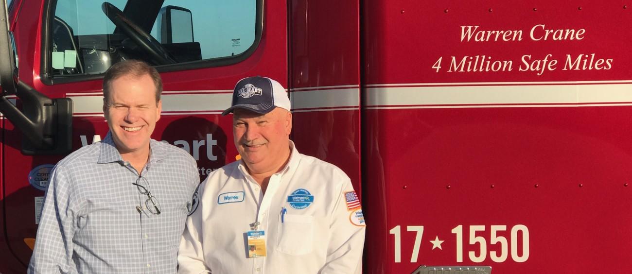 Warren Truck Driver with Greg