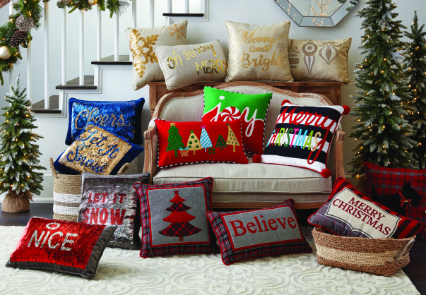 holiday pillows from sams club