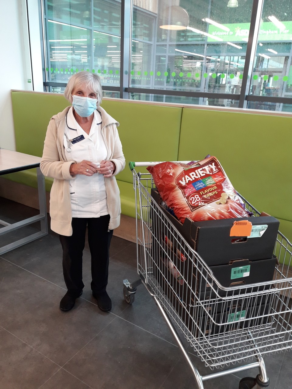 Donation to nursing home | Asda Gillingham Pier