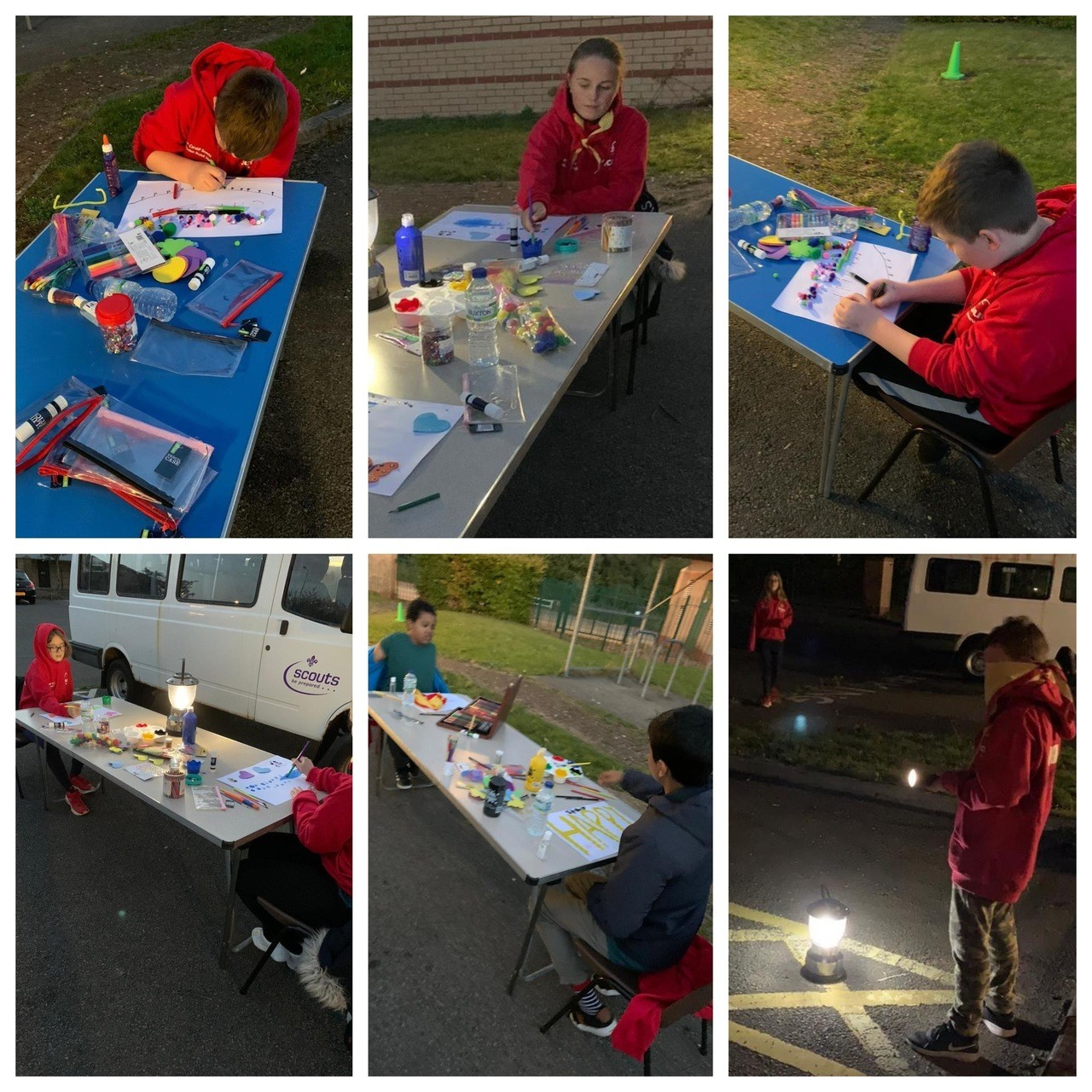 Crafty donation to the Scouts | Asda Cardiff Bay