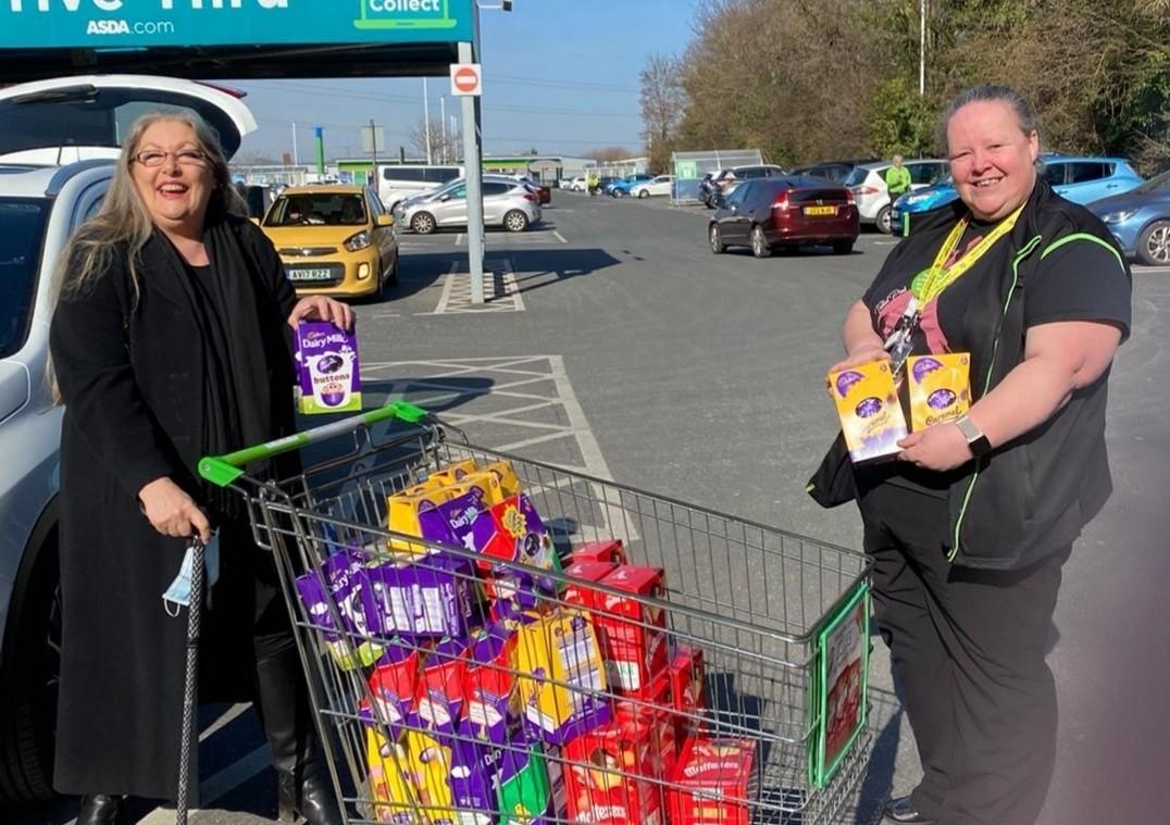 Easter egg donations | Asda Fareham