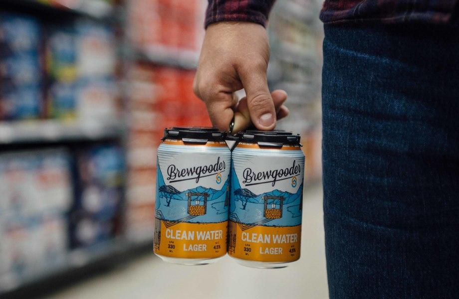 Image of Brewgooder beer