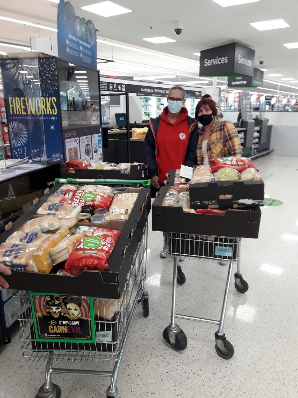 Fighting holiday hunger | Asda Leigh