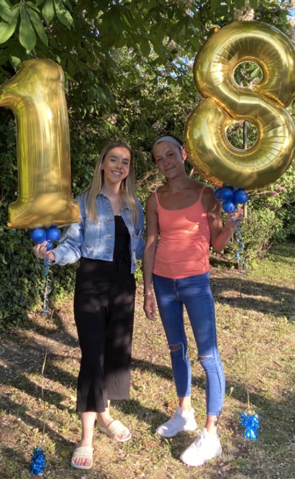 Tegan Mead from Asda Biggleswade celebrates her 18th birthday
