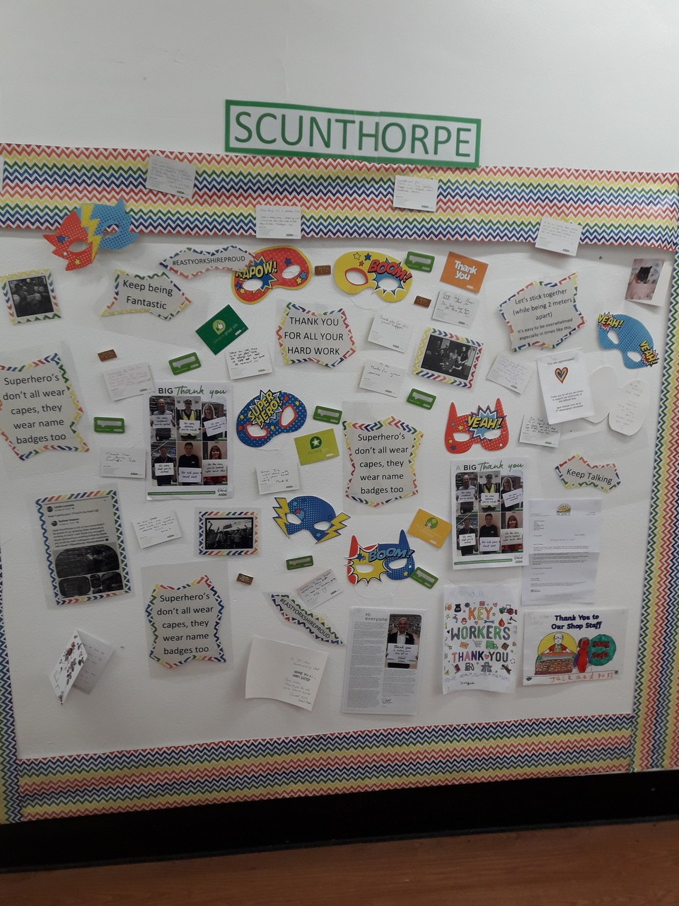 Saying thank you to us all at Scunthorpe | Asda Scunthorpe