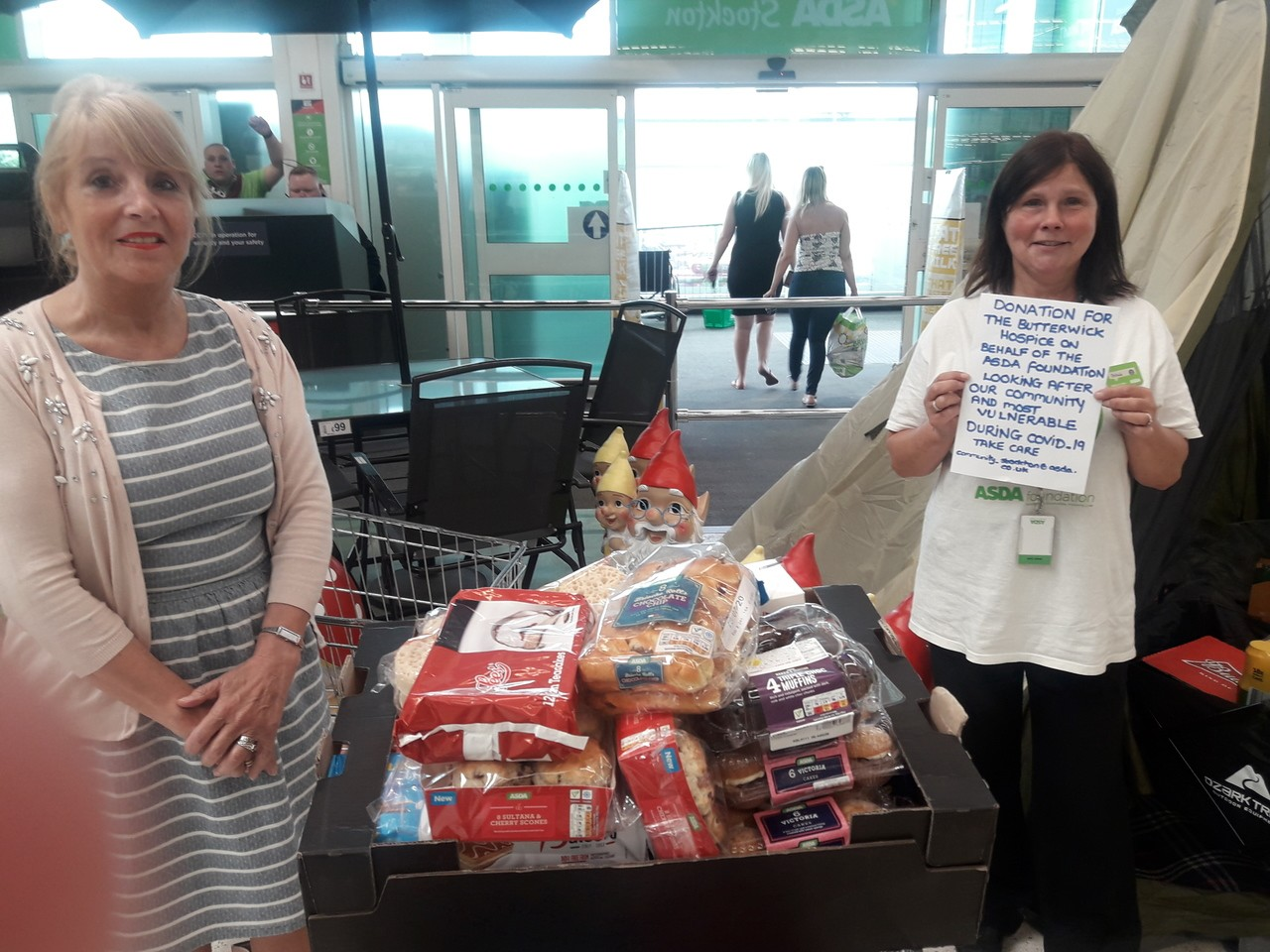 Hamper for The Butterwick Hospice  | Asda Stockton