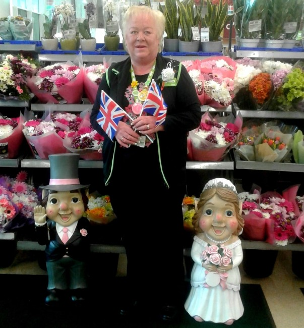 Asda Tonypandy colleague Yvonne Johns has a link to the Royal wedding