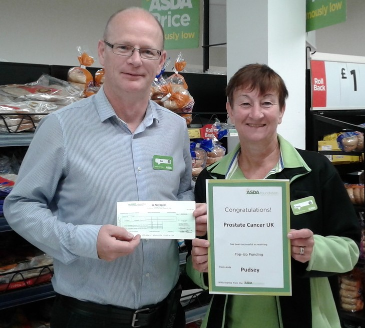 Asda Pudsey colleague Tracy Hurst