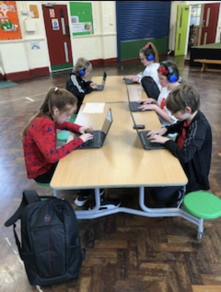 Laptop donations to Cheddar Grove School | Asda Bedminster