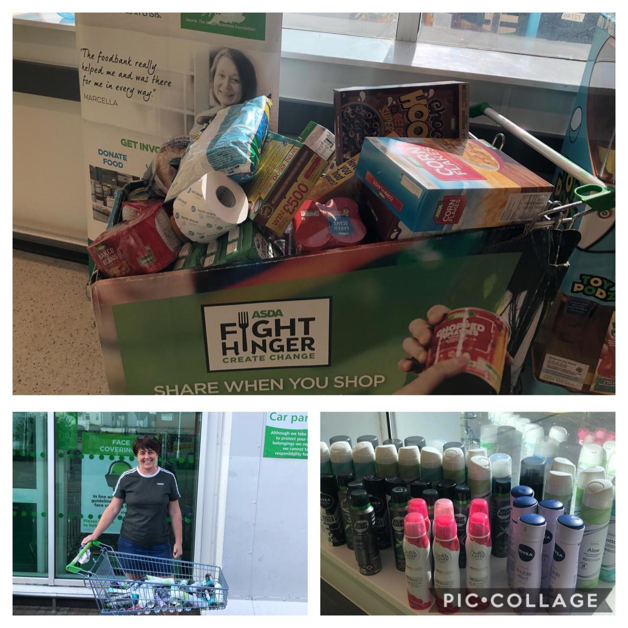 Foodbank donation | Asda Widnes