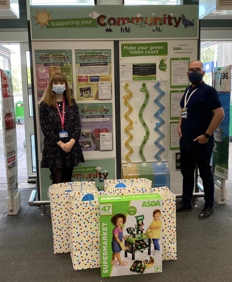 Donation to the children's ward at Lister Hospital | Asda Stevenage