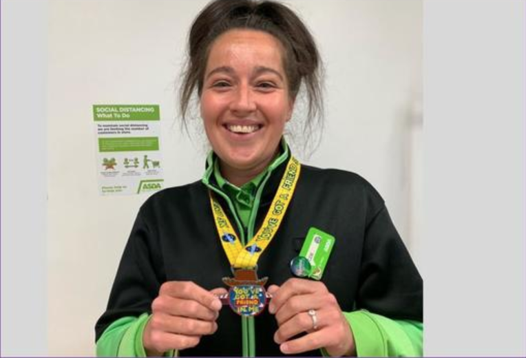 Kim's keeping positive | Asda Dundee Kirkton