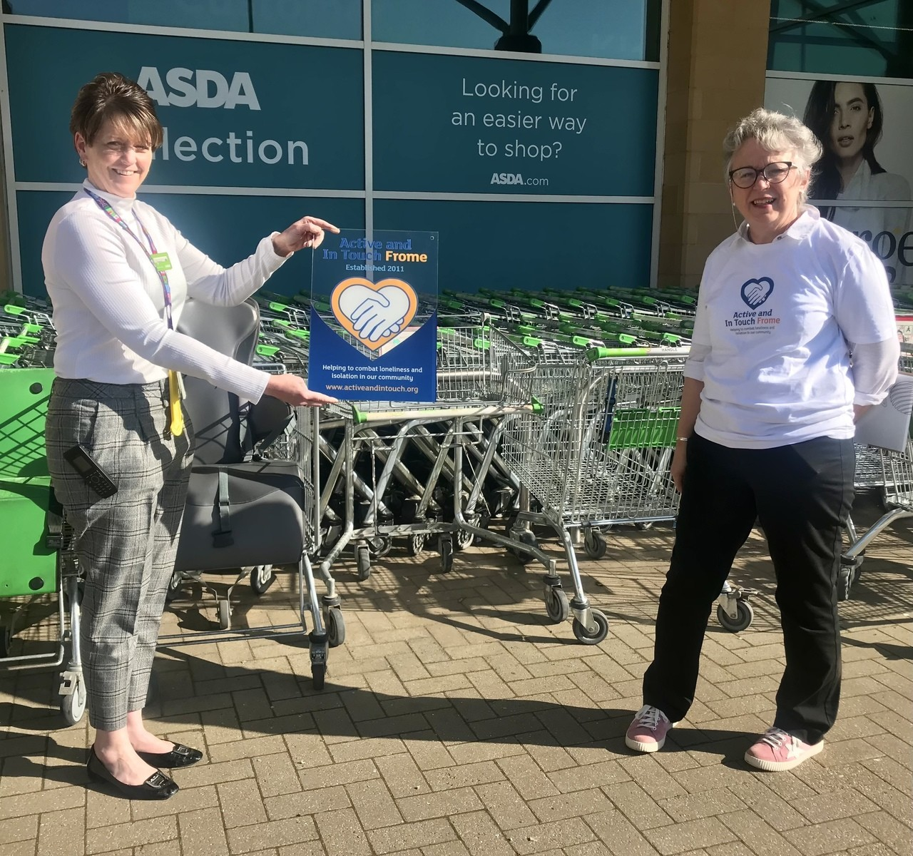 Active & In Touch   Asda Frome