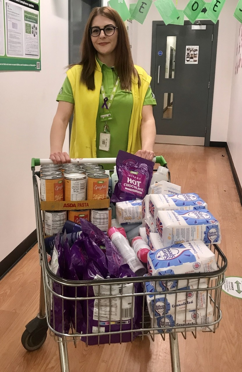 Food bank donation | Asda Frome