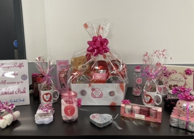 Unmanned Tickled Pink Valentines colleague Raffle | Asda Harlow
