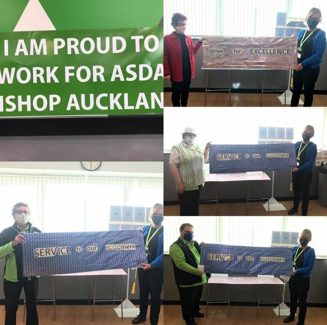 Celebration lunch | Asda Bishop Auckland