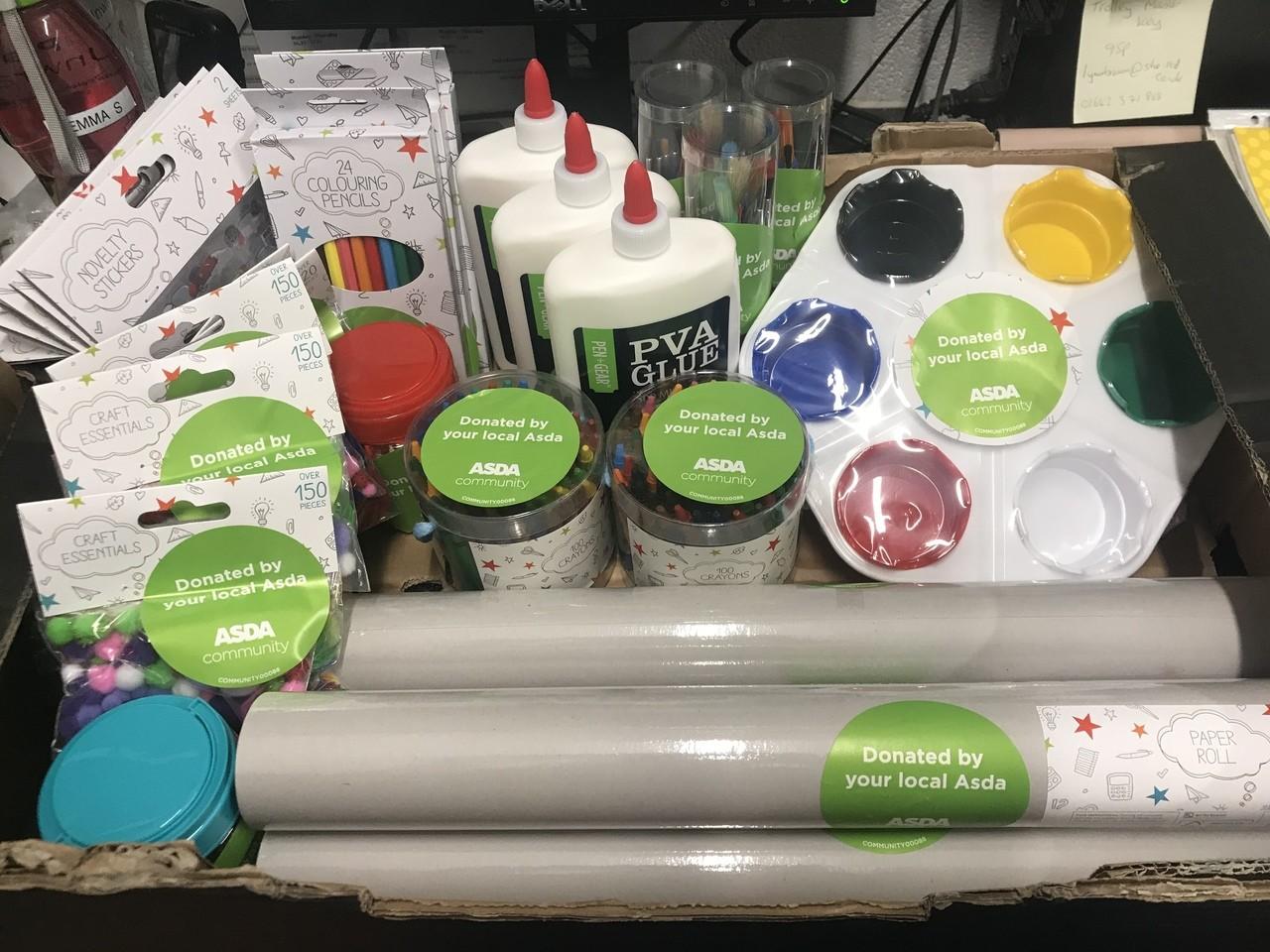 Craft supplies for Little Gems Preschool | Asda Gillingham