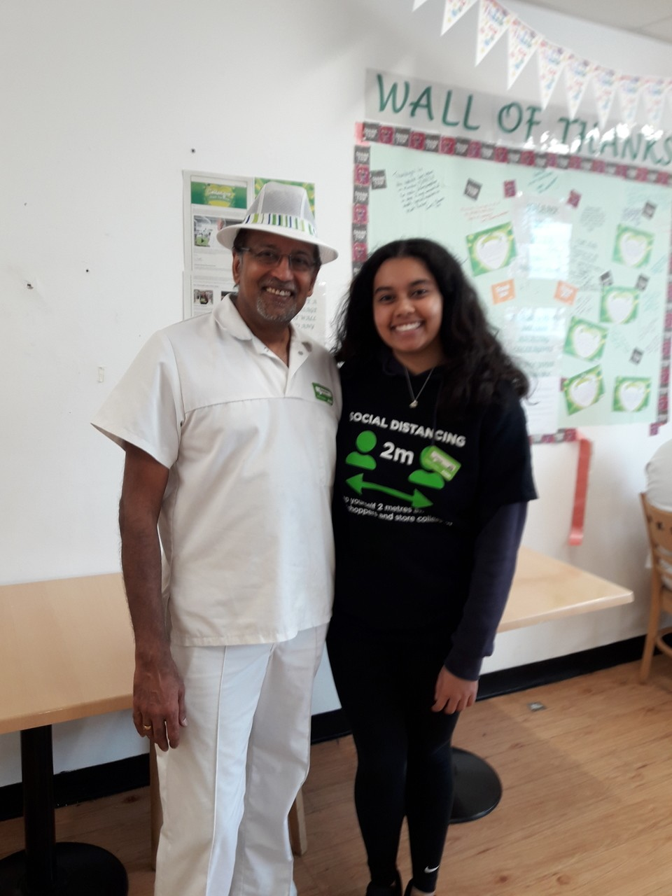 Father and Daughter team in Oadby store. | Asda Oadby
