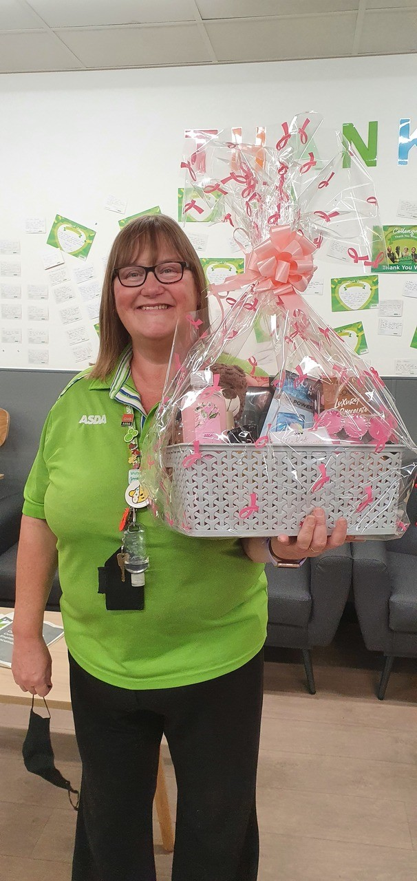 Tickled Pink raffle | Asda Greenhithe