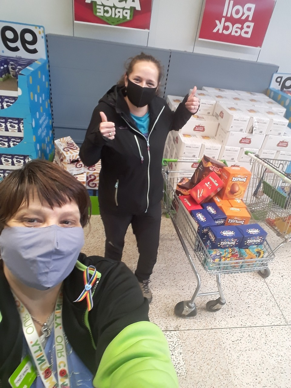 Donation to St Thomas' PFA | Asda Golborne